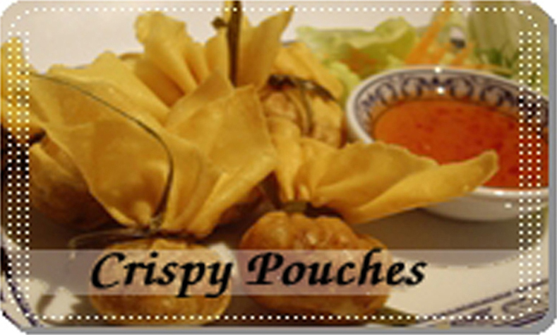 Crispy Pouches (Tung Tong)