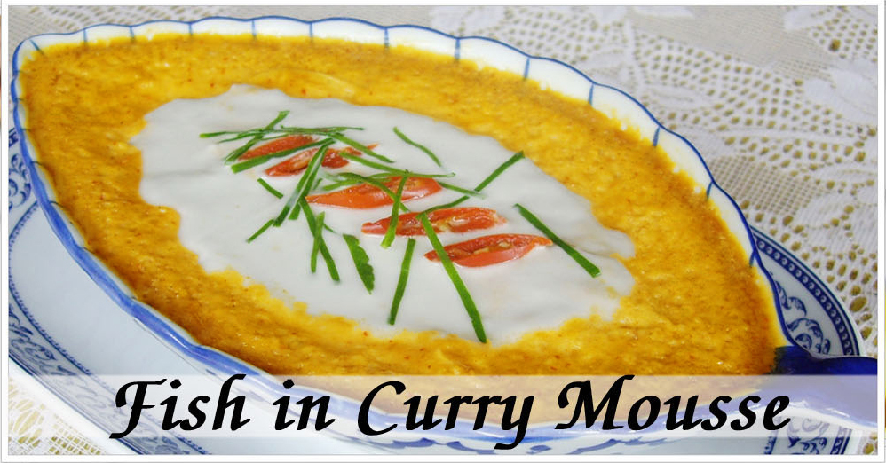 Curry Fish Mousse (Hor Mok Pla)