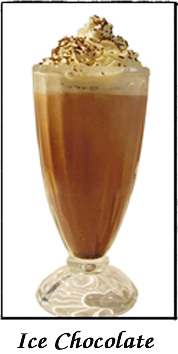 Iced Chocolate (with Ice-Cream) - $6.00 : Rose Of Thailand, Authentic ...