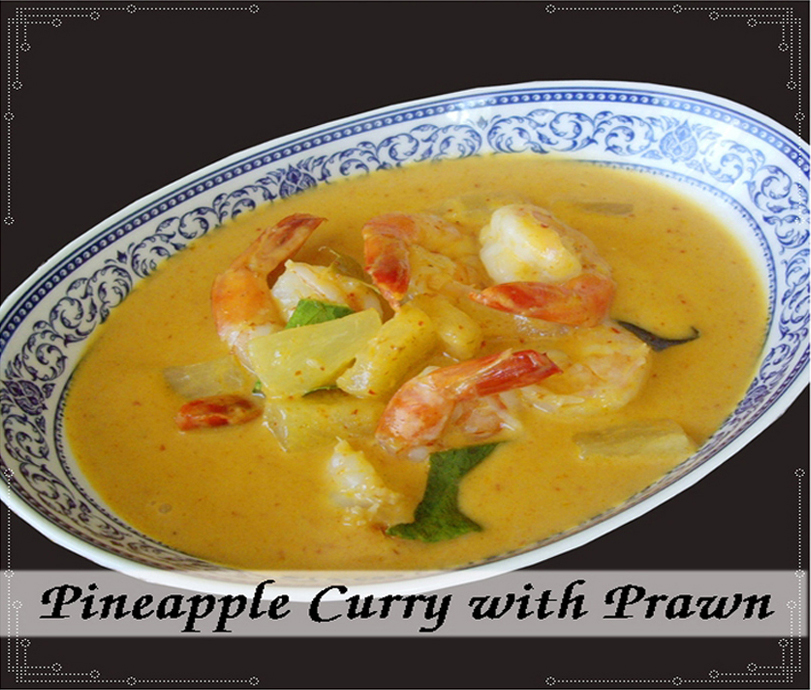 Pineapple Curry Prawn