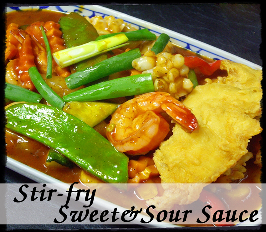 Sweet & Sour Sauce (Pad Preaw Warn)