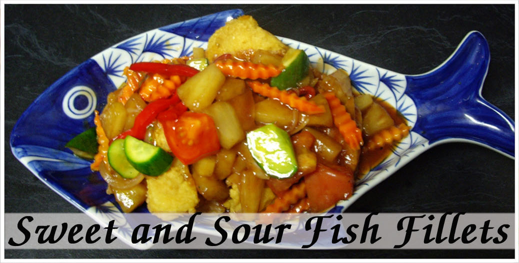 Sweet and Sour Fish Fillets (Pla Sarm Rod)
