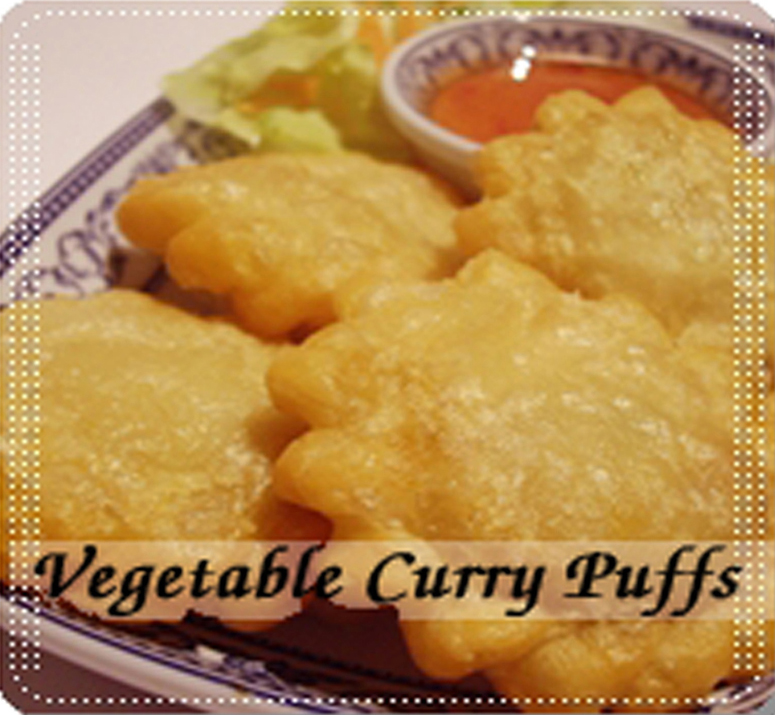 Vegetable Curry Puffs - Click Image to Close
